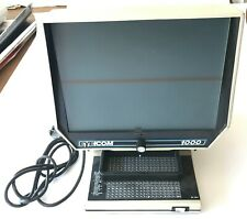 EYECOM 1000 - Vintage Microfiche Microslide Reader Viewer - Working - Ultra Rare