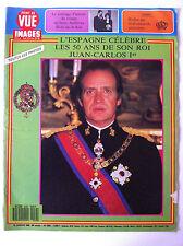 POINT DE VUE du 15/01/1988; Les 50 ans du Roi Juan Carlos Ier/ Mariage d'Andrews