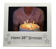 "Happy 18th Birthday Photo Frame - 5"" x 3.5"""