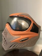 Vforce Grill Paintball mask orange/grey excellent condition dye virtue empire