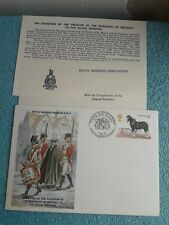 Enveloppe Premier Jour FDC Royal marines museum R.M 21 Freedom Medway 1979