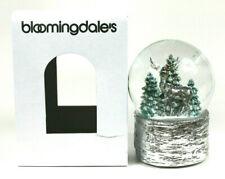 Bloomingdales Winter Musical Snow Globe