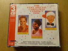 3 CD BOX / ELVIS PRESLEY: MAHALIA JACKSON, CROSBY: VERY SPECIAL CHRISTMAS