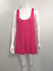 Victoria's Secret Women's Size XS Sleeveless Pink Beach Swimsuit Cover Up
