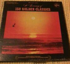 BULK LOT 5 VINYL LP's BOX SET A TREASURY OF 150 GOLDEN CLASSICS CLASSICAL LP's