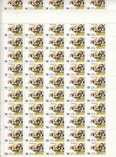 Stamps Australia 1976 CSIRO complete sheet 100 MUH & sheet number