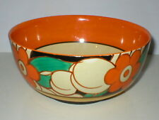 CLARICE CLIFF FANTASQUE ART DECO 7.1/2in BOWL FLOREAT WILKINSON