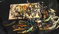BAG OF FISHING LURES, WEIGHTS, HOOKS, SWIVELS USED CONDITION #3