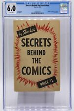 Secrets Behind the Comics #nn CGC 6.0 White Pages, Stan Lee