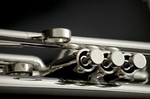 JP by Taylor U.K. Silver    Custom Bb Trumpet- Pro (Heavy Weight)  double case !