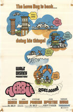 Herbie Rides Again 1974 27x41 Orig Movie Poster FFF-43373 John McIntire Disney