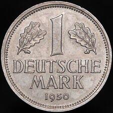 More details for 1950 j | germany 1 deutsche mark | cupro-nickel | coins | km coins