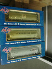 Atlas lot of 3 o scale cars KM cyln hopper, Streling salt hopper, NYC cyl hoppe