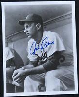 Johnny Podres Brooklyn Dodgers Baseball Autographed Signed 8x10 B&W Photo