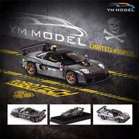YM Model 1:64 Honda NSX NA2 Gray Macross Resin Car Limited 499
