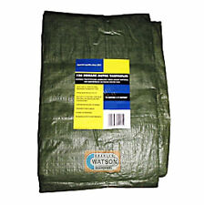 Waterproof TARPAULIN Ground Sheet Trailer Cover 6.0M x 4.5M (19.7ft x 14.8ft)