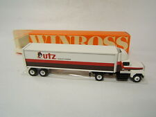 Winross Utz Potato Chips Hanover PA tractor trailer Ford 9000 Tractor 1991 VGC