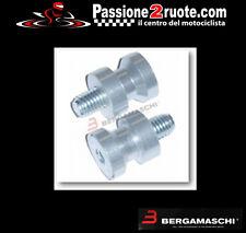 coppia Nottolini perni cavalletto per forchette moto alluminio rear stand mm 10