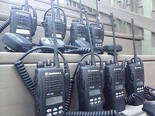 (8) MOTOROLA HT1250 UHF RADIOS 450-512MHz 128CH AAH25SDF9AA5AN  NARROWBAND HT CP