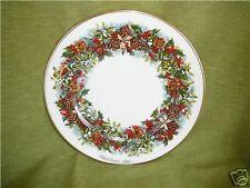Lenox Colonial Christmas Wreath Plate 1981 Virginia