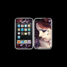 *BUTTERFLY* iPOD Touch Goth Fantasy Art Skin / Sticker By Victoria Frances
