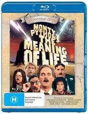Monty Python's Meaning Of Life (Blu-ray, 2013) ALL REGIONS 30TH ANNIVERSARY ED.