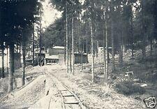 Granitwerk Bollmann Naundorf Freiberg Reklame 1926 Straßenbau Clausnitzer Granit