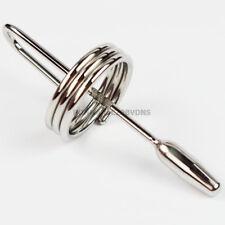 USA Prince Wand Stainless Steel Urethral Plug Male Penis Plug Sounding Dilator