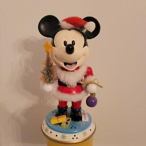 Vintage DISNEY MICKEY MOUSE NUTCRACKER Christmas Figurine