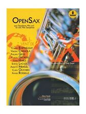 OpenSax Book Download Card 21st Century Alto Saxophone Songs Tunes MUSIC BOOK