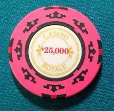 JAMES BOND 007 $25000 CASINO ROYALE CHIP
