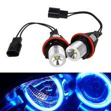 2x Car LED Angel Eyes Halo Ring Blue LED Light Bulb Lamp For E53 E60 E61 E63 New