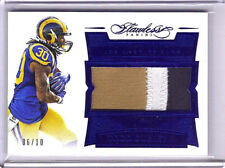 2016 FLAWLESS TODD GURLEY 3CLR JUMBO JERSEY  #06/10 SSP