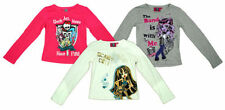 Crew Neck Long Sleeve Novelty/Cartoon T-Shirts & Tops (2-16 Years) for Girls