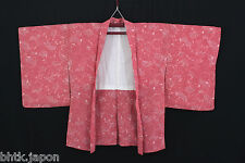羽織 Haori japanese - Pink floral patterns - Jacket - Import Japan 1370