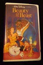 BEAUTY AND THE BEAST~VHS, 1992 ~WALT DISNEY CLASSIC~BLACK DIAMOND~1325~FREE SHIP