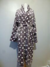 1d7709a7847 Lounge   Sleep at Debenhams Womens Sleek Spot Bath Robe Size 16-18 UK Taupe
