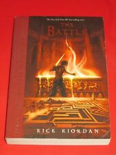 wmf* RICK RIORDAN ~ PERCY JACKSON AND THE OLYMPIANS THE BATTLE OF THE LABYRINTtp
