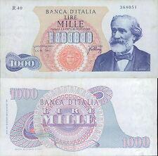 1.000 LIRE VERDI 1° TIPO DEC.20/05/1966 STUPENDO