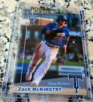 ZACH MCKINSTRY 2019 SP Rookie Card RC Los Angeles Dodgers Drillers $$ HOT $$