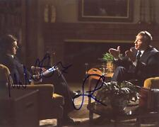 "Michael Sheen & Frank Langella ""Frost/Nixon"" AUTOGRAPHS Signed 8x10 Photo ACOA"