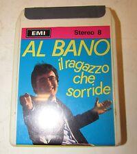 Stereo 8 RCA Al Bano il ragazzo che sorride sigillata