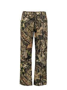 Mossy Oak Men's 5-Pocket Camo Jean Hunting Pant (Mo Country Green, Small XL 2XL)
