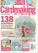 CARD MAKING & PAPERCRAFT,  MAY, 2016   ISSUE, 156 ( THE UK'S CARDMAKING MAG