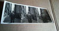 000 Vintage B&W Photograph Movie Naturals INC Man in Hat W Cigar Walking 3 Shots