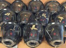 Scott Av3000 Ht Firefighter Scba Mask Medium 5pt KevlarHeadnet Right CommBracket