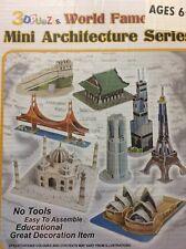 Primo Tech C058H 3D Puzzle Mini Architecture Series No.2 Cubic Fun Series 2