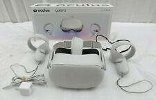 Oculus Quest 2 64GB VR Headset - White W/ Controllers and Glasses Spacer