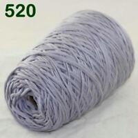 Lof of 1Cone 400g Worsted Cotton Chunky Super Bulky Hand Knitting Yarn Gray