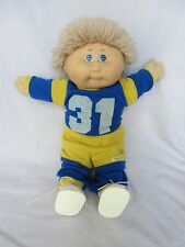 Vintage 1984 Cabbage Patch Kid Doll Jesmar Spain Fuzzy Hair Boy Freckles Orig.